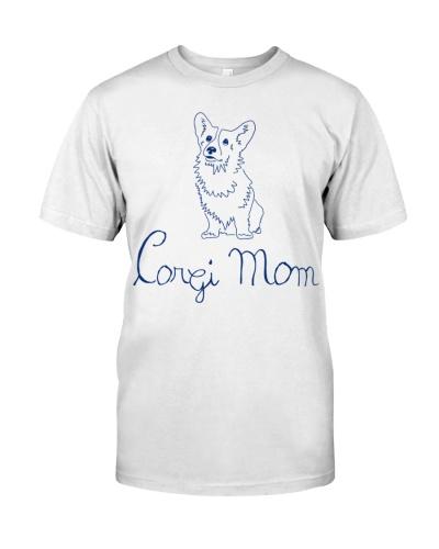 Handwriting Corgi Mom