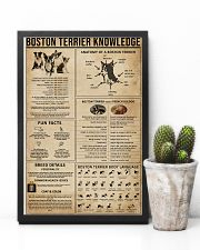 Boston Terrier Knowledge 11x17 Poster lifestyle-poster-8