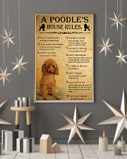 A Poodle's House Rules 11x17 Poster lifestyle-holiday-poster-1