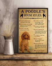 A Poodle's House Rules 11x17 Poster lifestyle-poster-3