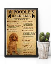 A Poodle's House Rules 11x17 Poster lifestyle-poster-8