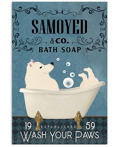 Bath Soap Company Samoyed