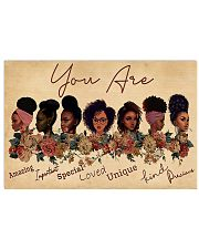 You Are Amazing Black Girl 17x11 Poster front