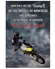 Motocross Find Yourself 16x24 Poster front