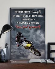 Motocross Find Yourself 16x24 Poster lifestyle-poster-2