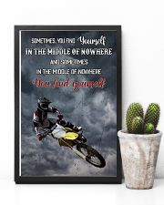 Motocross Find Yourself 16x24 Poster lifestyle-poster-8