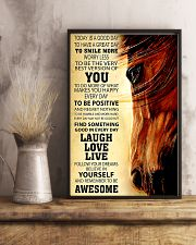 Horse Today Is A Good Day 11x17 Poster lifestyle-poster-3