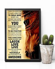 Horse Today Is A Good Day 11x17 Poster lifestyle-poster-8