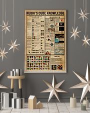 Rubik Cube Knowledge 24x36 Poster lifestyle-holiday-poster-1