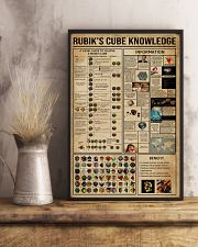 Rubik Cube Knowledge 24x36 Poster lifestyle-poster-3