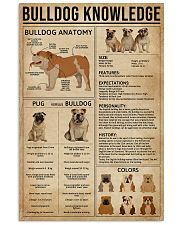 Bulldog Knowledge 11x17 Poster front