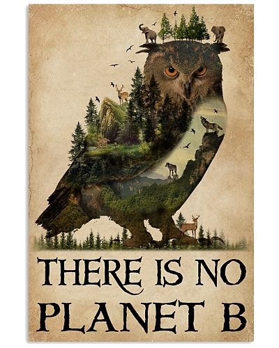 There Is No Planet B Natural Owl