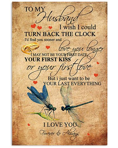 To My Husband First Kiss First Love Dragonfly