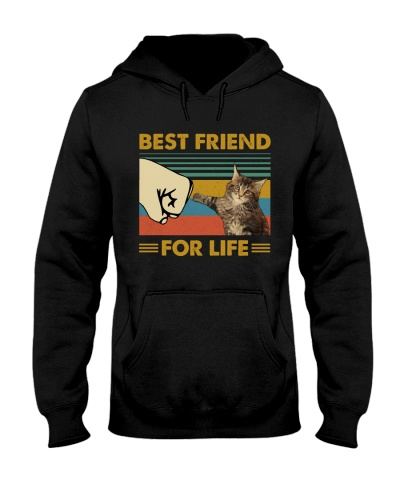 Retro Blue Best Friend For Life Maine Coon