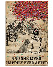 Dictionary Girl Happily Ever Poodle 11x17 Poster front