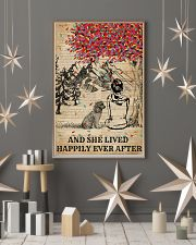 Dictionary Girl Happily Ever Poodle 11x17 Poster lifestyle-holiday-poster-1