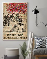 Dictionary Girl Happily Ever Poodle 11x17 Poster lifestyle-poster-1