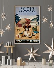 Vintage Beach Club Is Ruff Boxer 11x17 Poster lifestyle-holiday-poster-1