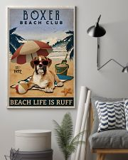 Vintage Beach Club Is Ruff Boxer 11x17 Poster lifestyle-poster-1
