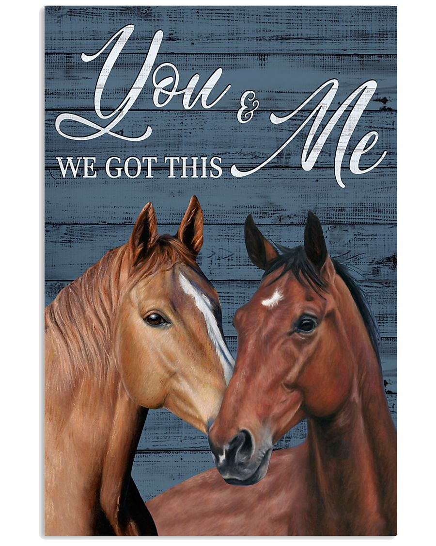 Blue Pallet Got This Horse 11x17 Poster