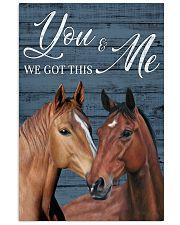Blue Pallet Got This Horse 11x17 Poster front
