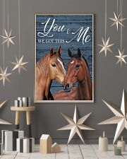 Blue Pallet Got This Horse 11x17 Poster lifestyle-holiday-poster-1