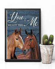 Blue Pallet Got This Horse 11x17 Poster lifestyle-poster-8