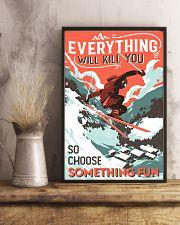 Choose Something Fun Skiing 16x24 Poster lifestyle-poster-3