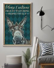 Watching Respectfully Donkey 16x24 Poster lifestyle-poster-1