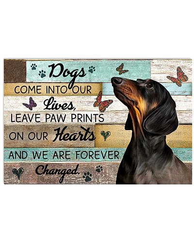 Wood Piece Come Into Our Lives Dachshund