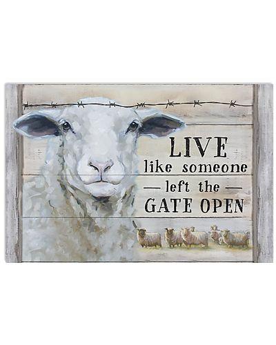 Sheep Live Like Someone Left Gate Open