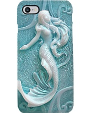 Fossil Mermaid Printed Phone Case i-phone-7-case