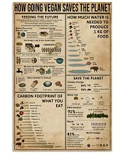 How Going Vegan Saves The Planet  11x17 Poster front