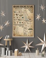 How Going Vegan Saves The Planet  11x17 Poster lifestyle-holiday-poster-1