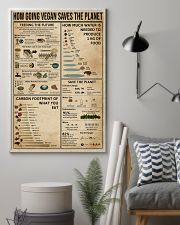 How Going Vegan Saves The Planet  11x17 Poster lifestyle-poster-1