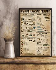 How Going Vegan Saves The Planet  11x17 Poster lifestyle-poster-3