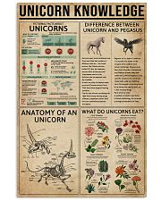 Unicorn Knowledge Mythical Creatures 11x17 Poster front