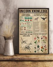 Unicorn Knowledge Mythical Creatures 11x17 Poster lifestyle-poster-3