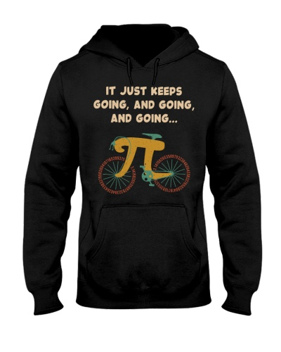 Just Keeps Going Pi Bicycle Math Retro