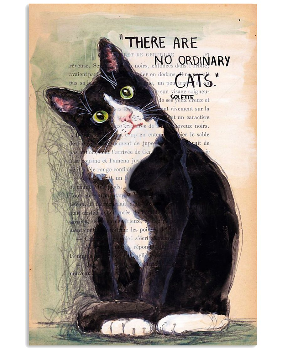 There Are No Ordinary Cats 11x17 Poster