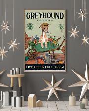 Greyhound Garden 11x17 Poster lifestyle-holiday-poster-1