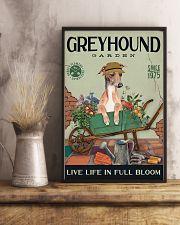 Greyhound Garden 11x17 Poster lifestyle-poster-3