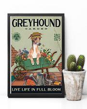 Greyhound Garden 11x17 Poster lifestyle-poster-8