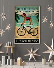 Cycling Club Airedale Terrier 11x17 Poster lifestyle-holiday-poster-1
