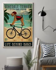 Cycling Club Airedale Terrier 11x17 Poster lifestyle-poster-1