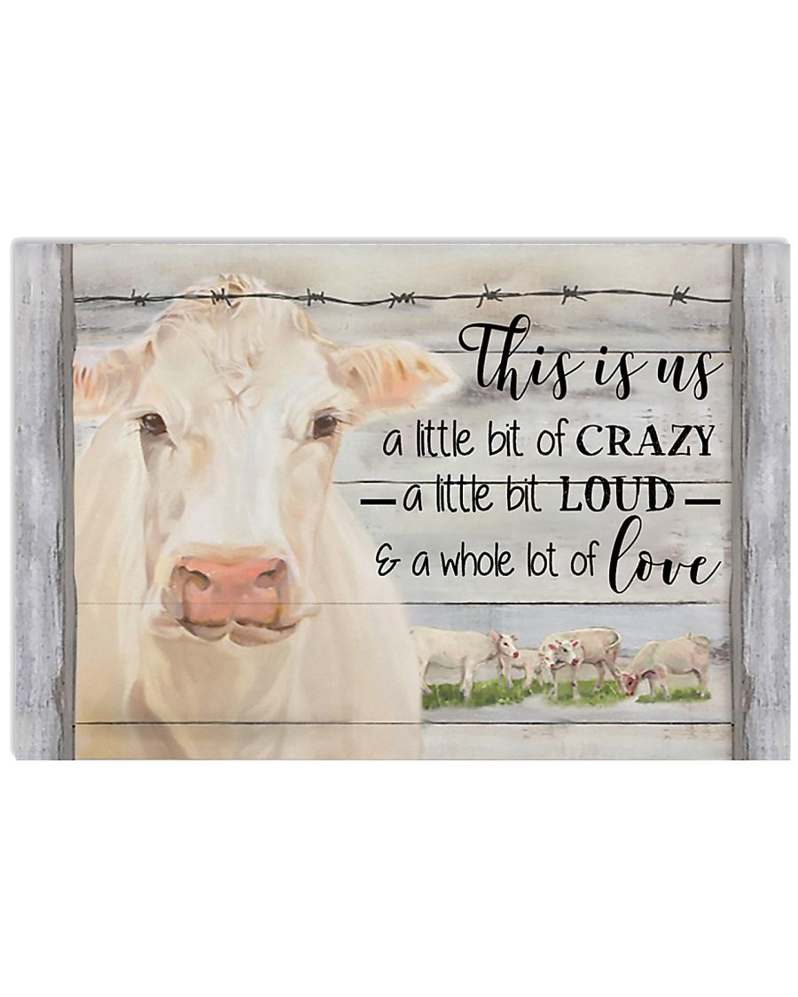 This Is Us Charolais Cattle 17x11 Poster