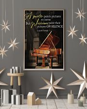 Piano A Painter Paints Pictures 11x17 Poster lifestyle-holiday-poster-1