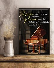 Piano A Painter Paints Pictures 11x17 Poster lifestyle-poster-3