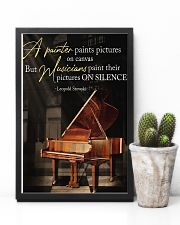 Piano A Painter Paints Pictures 11x17 Poster lifestyle-poster-8