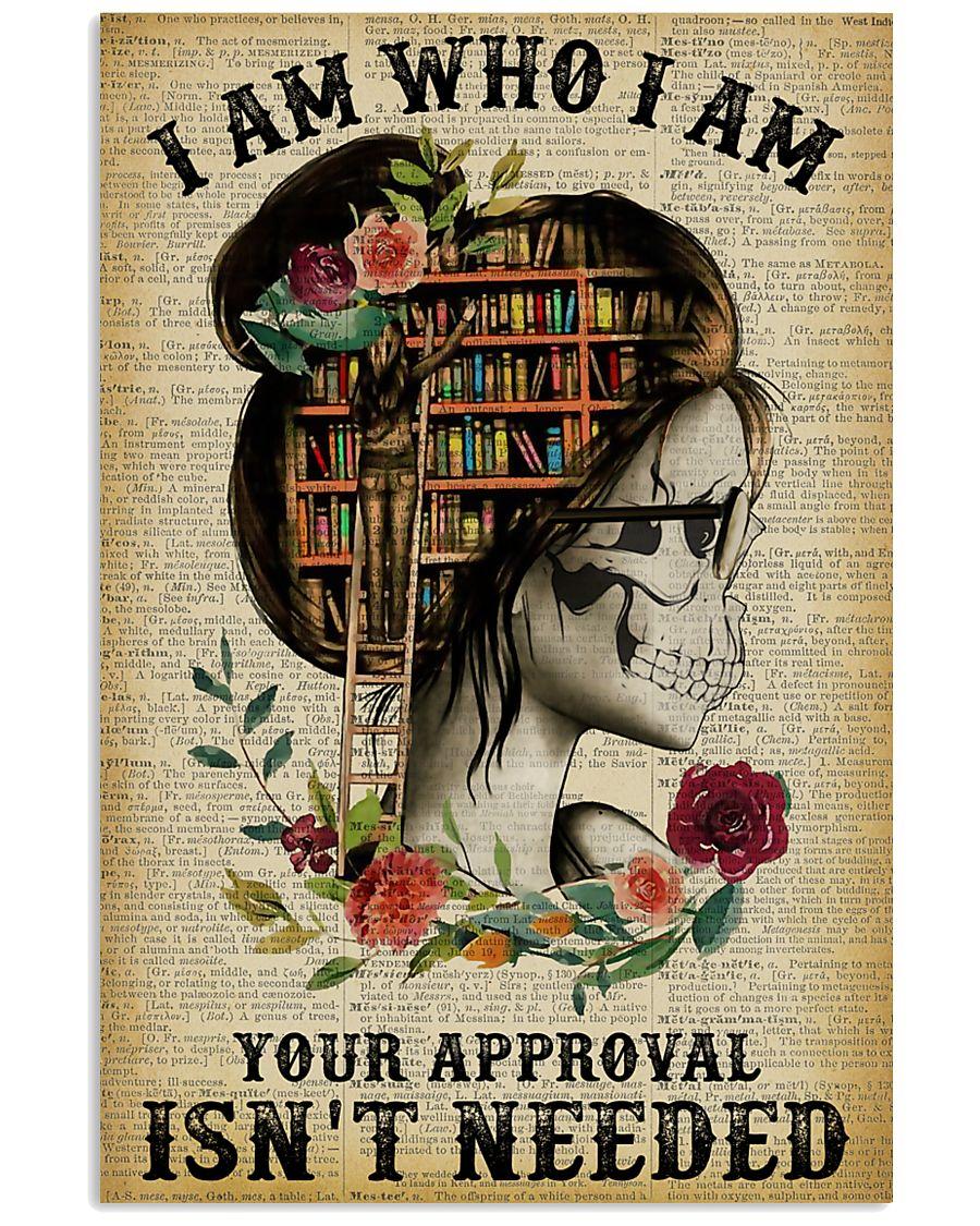 I Am Who I Am Skeleton Reading 11x17 Poster
